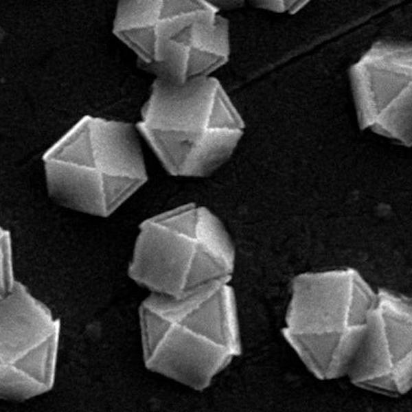 Scientists sculpt nanoparticle shells with light