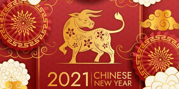 Lunar new year 2021, vector created by pikisuperstar at www.freepik.com