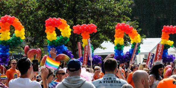 Pride Parade in Calgary, Alberta Canada 2018