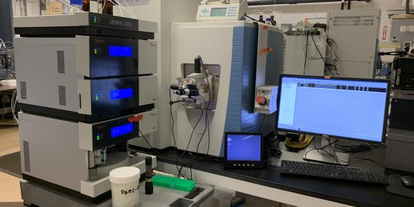 Equipment housed in the Department of Chemistry mass spectrometry research resource