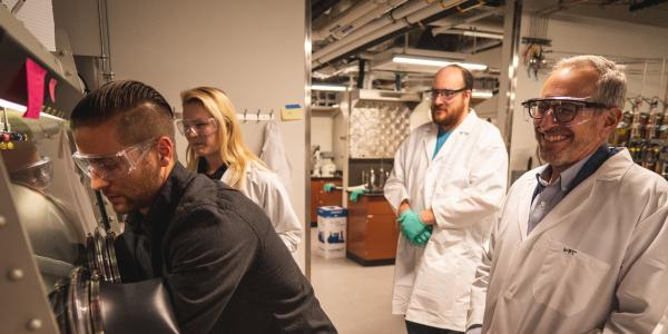 Tolman Lab bolstered by $20 million grant renewal awarded to NSF Center for Sustainable Polymers