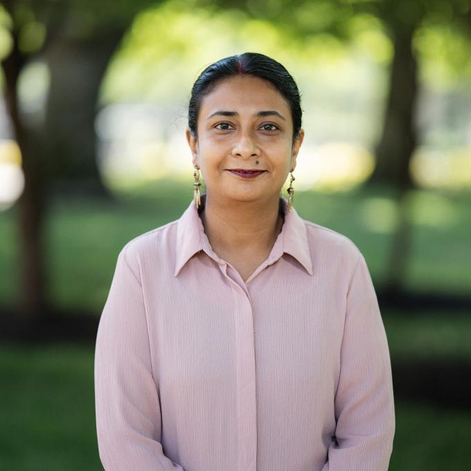 Headshot of Uma Banerjee