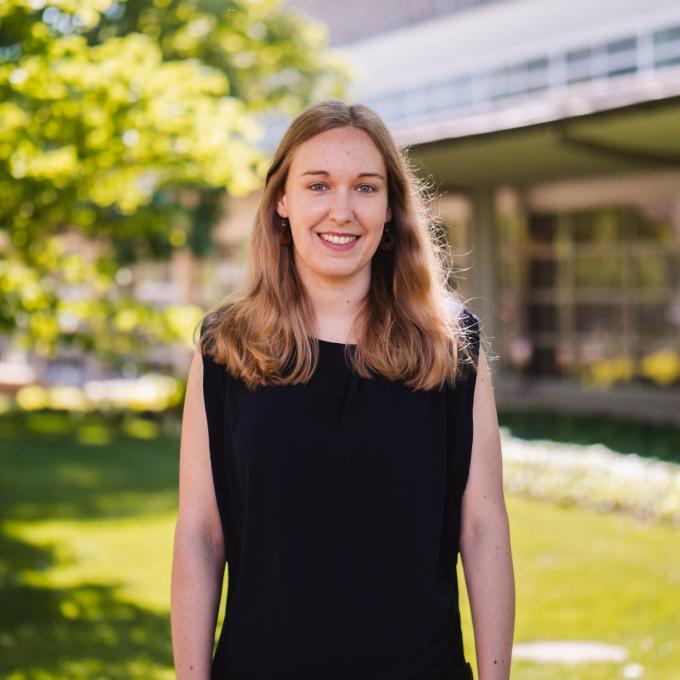 Headshot of Michaela Schwaiger-Haber